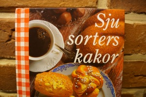 """Het boekje """"Sju sorters kakor"""", vol recepten van Zweeds gebak"""